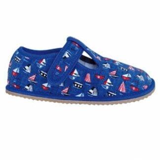 Protetika papuče chlapecké barefoot RAVEN BLUE