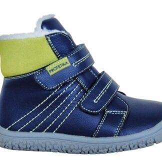 Protetika obuv dětská zimní barefoot  ARTIK GREEN