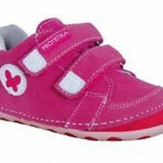 Protetika dívčí boty Barefoot FERGUS FUXIA