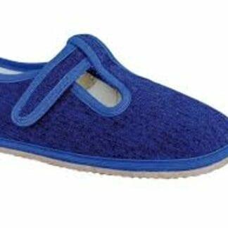 Protetika papuče chlapecké Barefoot RAVEN DENIM