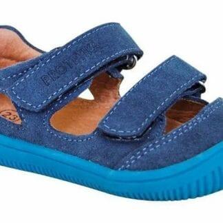 Protetika chlapecké boty Barefoot BERG NAVY