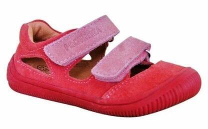 Protetika dívčí boty Barefoot BERG KORAL