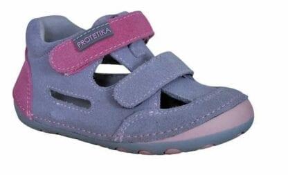 Protetika dívčí boty Barefoot FLIP GREY