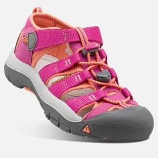 Keen Dětské sandály NEWPORT H2 K very berry/fusion coral