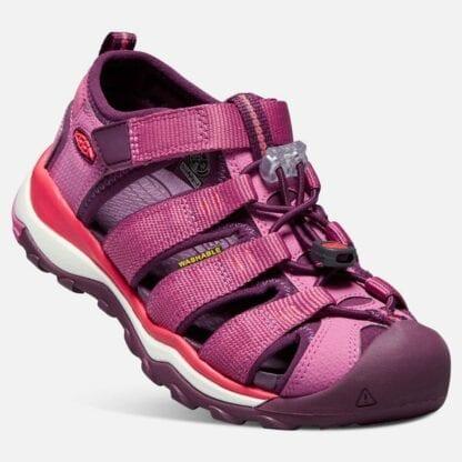 Keen Dětské sandály NEWPORT NEO H2 K red violet/grape wine
