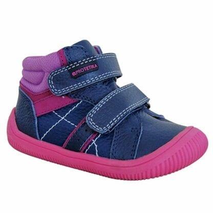 Protetika obuv dívčí barefoot DANY FUXIA