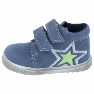 JONAP chlapecká celoroční barefoot obuv JONAP 022mv - modrá hvězda