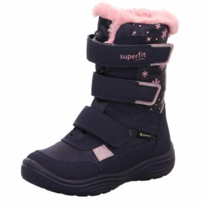 zimní boty dívčí CRYSTAL GTX