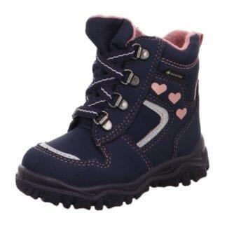 Superfit Dívčí zimní boty šněrovací HUSKY1 GTX