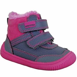 Protetika obuv dívčí zimní barefoot TYREL FUXIA