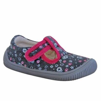 Protetika papuče dívčí barefoot KIRBY GREY
