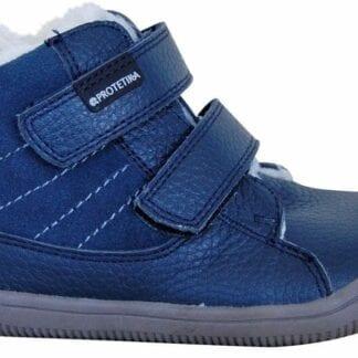 Protetika obuv dívčí zimní barefoot PROtex membránou KABI DENIM