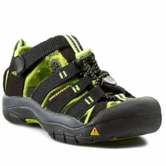Keen Chlapecké sandály NEWPORT 2 BLACK/LIME GREEN