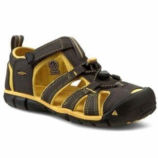 Keen Dětské sandály Raven/Yellow
