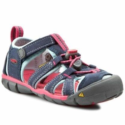 Keen Dětské sandály SEACAMP II CNX MidnightNavy/Corydalis Blue