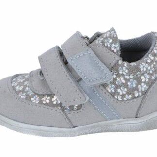 JONAP dívčí celoroční obuv J051/MF/V - šedá kytička
