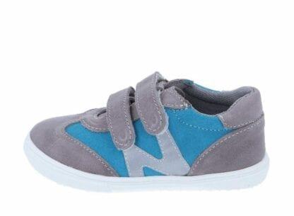 JONAP chlapecká celoroční obuv J053/M - modrá tyrkys