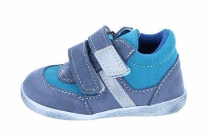 chlapecká celoroční obuv J051/M/V - modrá tyrkys