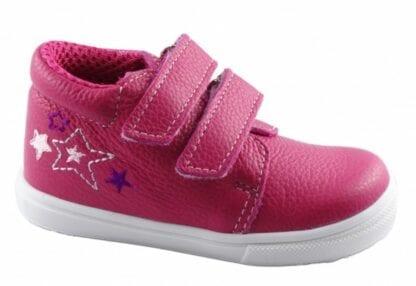 JONAP dívčí celoroční obuv J022/M/V - hvězdy růžová
