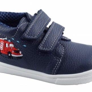 JONAP chlapecká celoroční barefoot obuv J022/M/V - hasiči