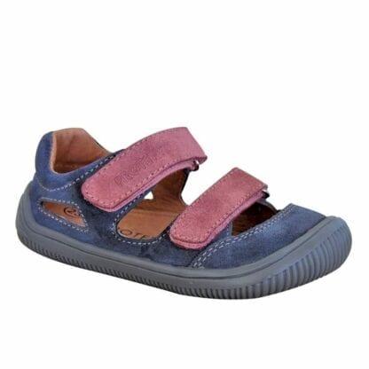 dívčí boty sandály Barefoot BERG GRIGIO