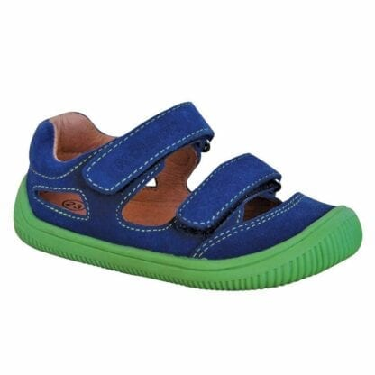 chlapecké boty sandály Barefoot BERG DENIM
