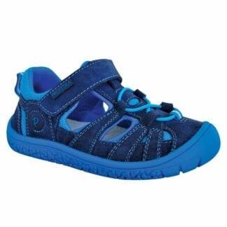 chlapecké boty Barefoot sandály BARD NAVY