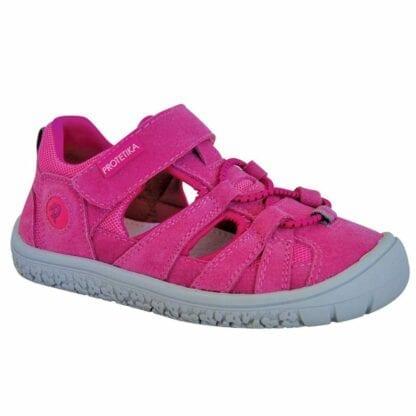dívčí boty Barefoot sandály BARD FUXIA