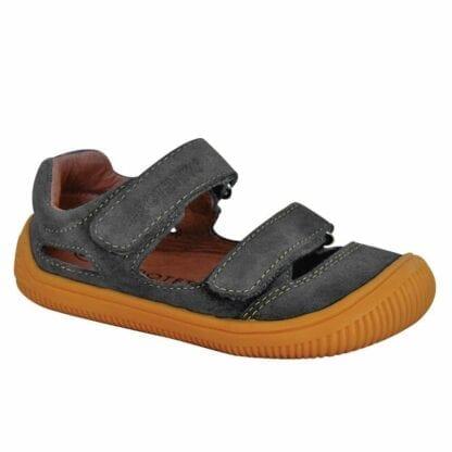 chlapecké boty sandály Barefoot BERG GRIS