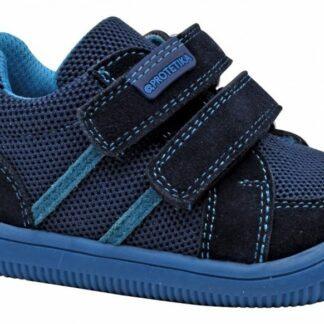 chlapecké celoroční boty Barefoot BRIK NAVY