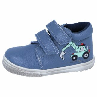 chlapecká celoroční barefoot obuv J022/M/V/bagr modrá