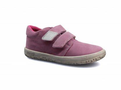 dívčí celoroční barefoot obuv J-B1/M/V růžová