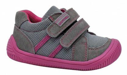 dívčí celoroční boty Barefoot BRIK GREY